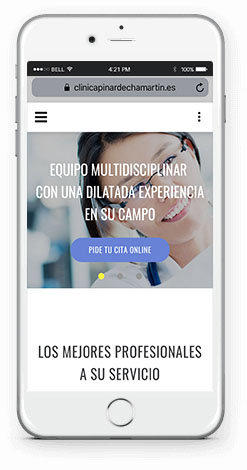 Diseño Web con WordPress en Melilla Mobile First